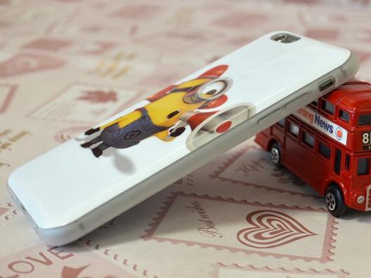 TPU чехол IMD Print Миньоны для Apple iPhone 6/6s (4.7
