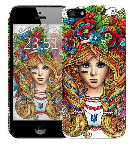 Чехол «Украинка» для Apple iPhone 5/5s