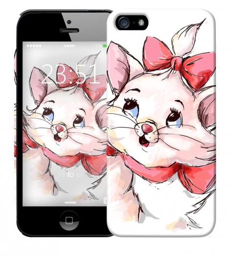 Чехол «Кошечка» для Apple iPhone 5/5s