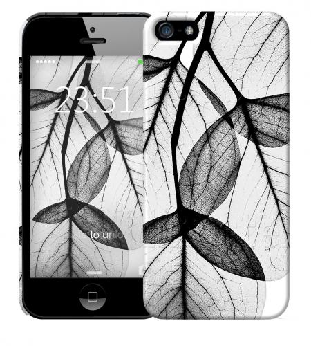 Чехол «Листики» для Apple iPhone 5/5s