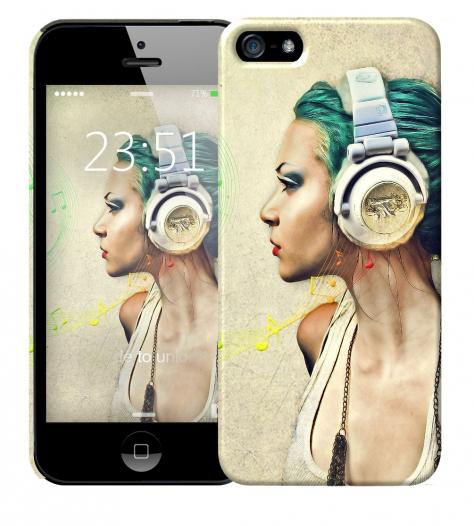Чехол «Music» для Apple iPhone 5/5s