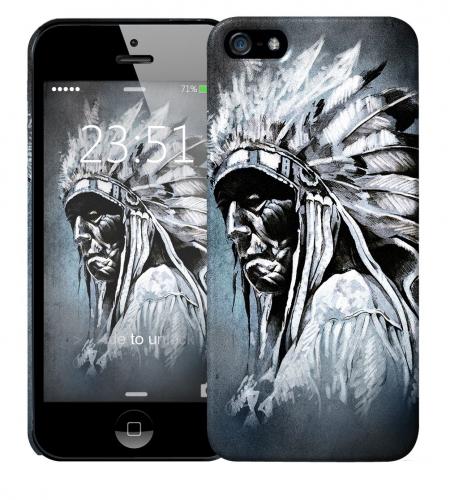 Чехол «Индеец» для Apple iPhone 5/5s