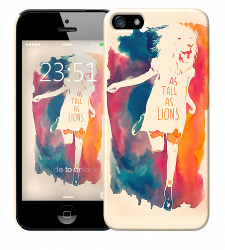 Чехол «As tall as lion» для Apple iPhone 5/5s