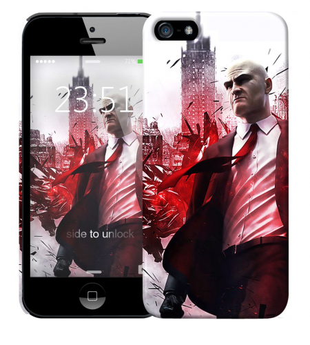 Чехол «Hitman» для Apple iPhone 5/5s