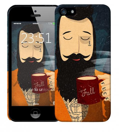 Чехол «Капитан» для Apple iPhone 5/5s