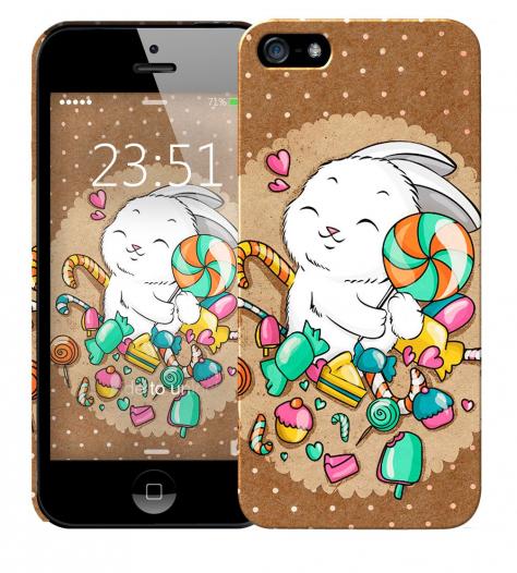 Чехол «Зайка» для Apple iPhone 5/5s