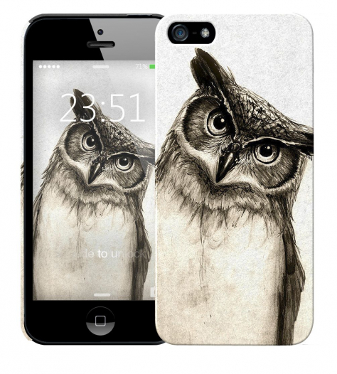 Чехол «Сова» для Apple iPhone 5/5s