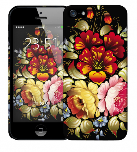Чехол «Хохлома» для Apple iPhone 5/5s