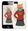 Чехол «Nerdy girl» для Apple iPhone 5/5s