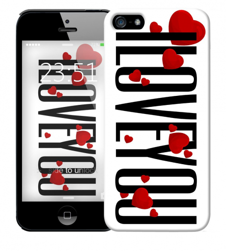 Чехол «I Love You» для Apple iPhone 5/5s