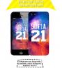 Чехол «Именной чехол Space» для Apple iPhone 5/5s