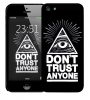 Чехол «Don't trust anyone» для Apple iPhone 5/5s