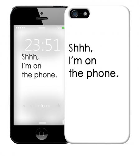 Чехол «Shhh...» для Apple iPhone 5/5s