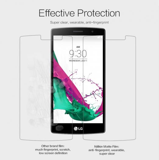 Защитная пленка Nillkin для LG H734/H736 G4s Dual