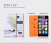 Защитная пленка Nillkin Crystal для Microsoft Lumia 540
