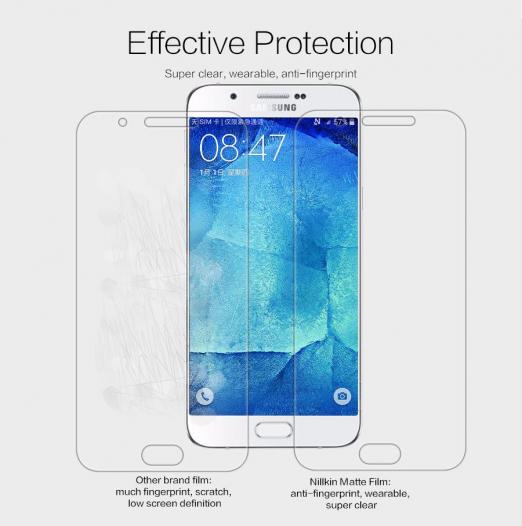 Защитная пленка Nillkin для Samsung Galaxy A8