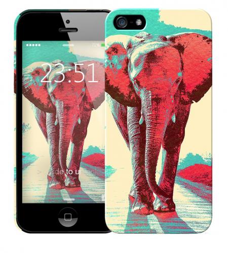 Чехол «Слон» для Apple iPhone 5/5s