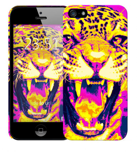 Чехол «Леопард» для Apple iPhone 5/5s