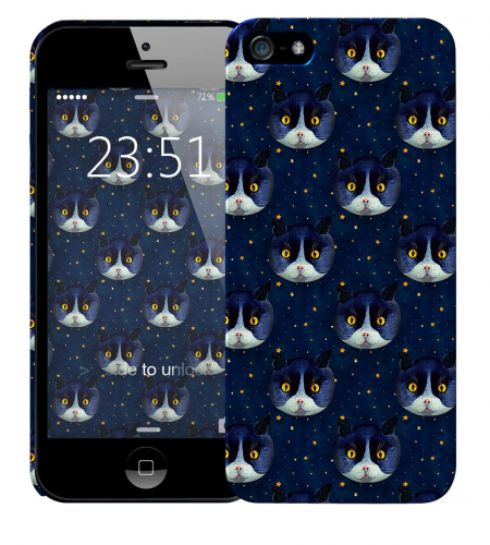 Чехол «Midnight Cat» для Apple iPhone 5/5s