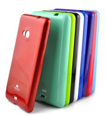 TPU чехол Mercury Jelly Color series для Microsoft Lumia 535