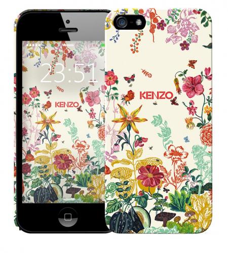 Чехол «Kenzo Flowers» для Apple iPhone 5/5s