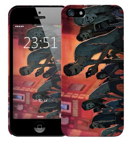 Чехол «Zombie phone» для Apple iPhone 5/5s