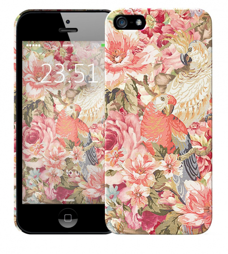 Чехол «Parrot» для Apple iPhone 5/5s