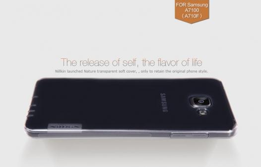 TPU чехол Nillkin Nature Series для Samsung A710F Galaxy A7 (2016)