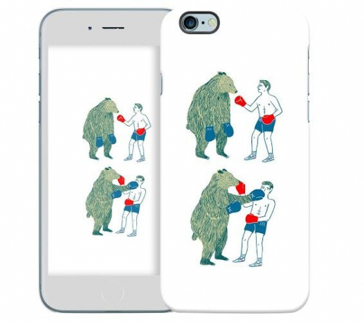 Чехол «Bear man» для Apple iPhone 6/6s 4.7