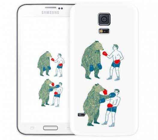 Чехол «Bear man» для Samsung Galaxy S5