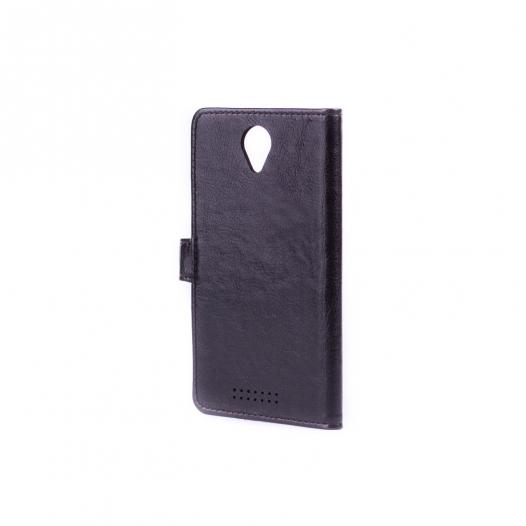 Кожаный чехол (книжка) Sticker для Lenovo A5000