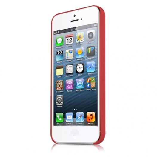 Пластиковая накладка itSkins Zero 0,3 mm для Apple iPhone 5/5S/SE (+ пленка)
