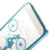 "Пластиковая накладка ""Riding Bicycle"" для Apple iPhone 5/5S"