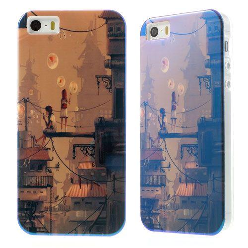 TPU чехол Print для Apple iPhone 5/5S