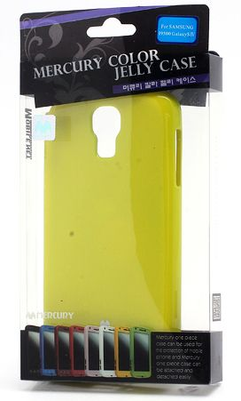 TPU чехол Mercury Jelly Color series для Samsung i9500 Galaxy S4