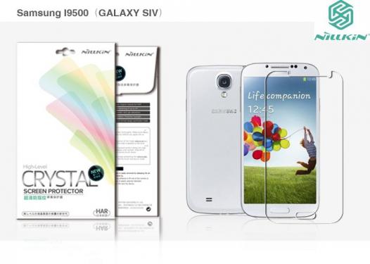 Защитная пленка Nillkin Crystal для Samsung i9500 Galaxy S4