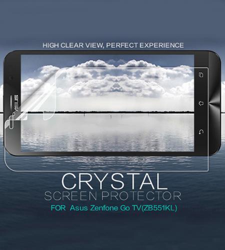Защитная пленка Nillkin Crystal для Asus ZenFone Go TV (ZB551KL)