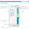 Защитное стекло Nillkin Anti-Explosion Glass (H+ PRO) (зак. края) для Sony Xperia X / Xperia X Dual