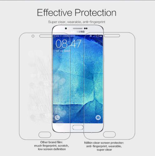 Защитная пленка Nillkin Crystal для Samsung Galaxy A8