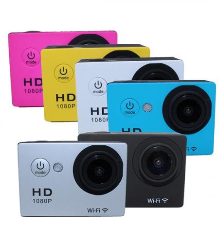Спортивная водонепроницаемая широкоугольная mini камера N9 1080p Full HD WI-FI