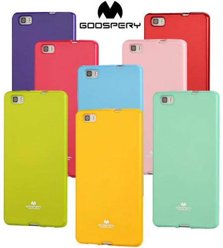 TPU чехол Mercury Jelly Color series для Huawei P8 Lite