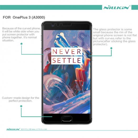 Защитная пленка Nillkin Crystal для OnePlus 3