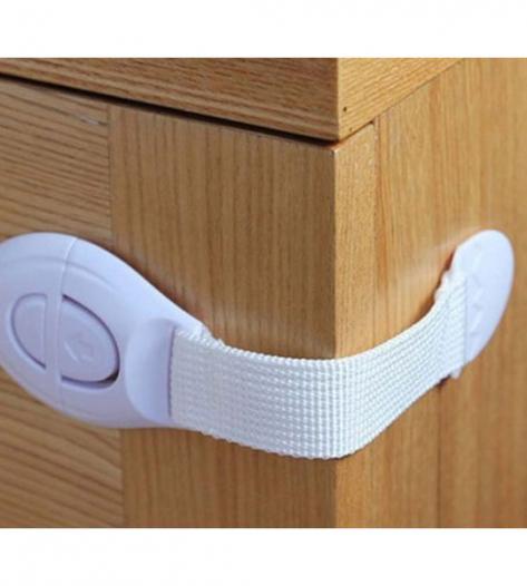 Тканевый блокиратор на дверцы для защиты деток