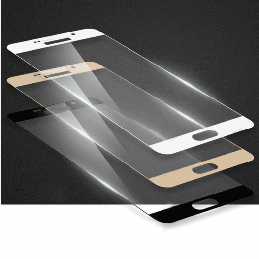 Защитное стекло CP+ на весь экран (цветное) для Samsung A710F Galaxy A7 (2016)