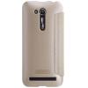 Кожаный чехол (книжка) Nillkin Sparkle Series для Asus Zenfone Go (ZB452KG)