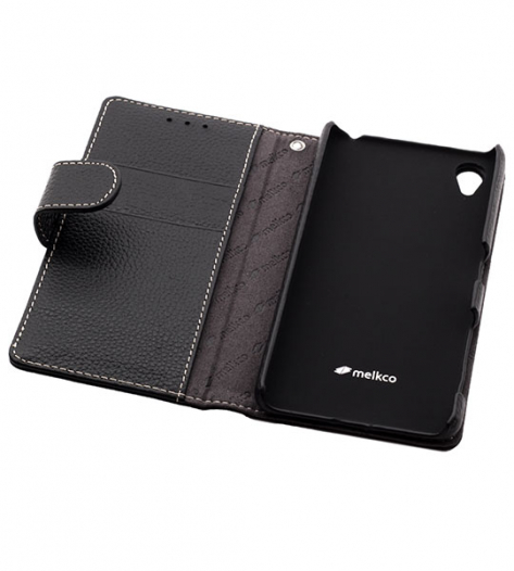 Кожаный чехол (книжка) Melkco для Sony Xperia X / Xperia X Dual