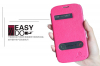 Кожаный чехол (книжка) Nillkin Easy series для Samsung i9060/i9082 Galaxy Grand Neo/ Grand Duos
