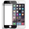 """Защитное стекло на весь экран (цветное) для Apple iPhone 6/6s plus (5.5"""") с закругленными TPU краями"""