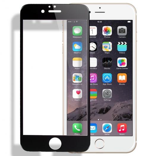 Защитное стекло на весь экран (цветное) для Apple iPhone 6/6s plus (5.5