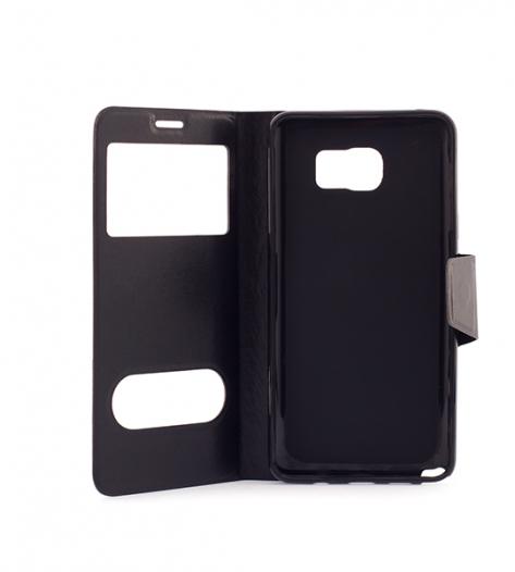 Чехол (книжка) с TPU креплением для Samsung Galaxy Note 5
